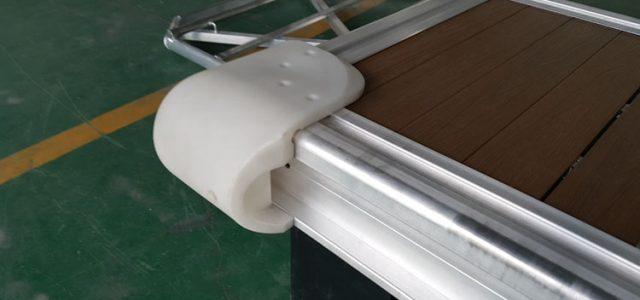Dermaga Apung Aluminium Cover Edge Fender