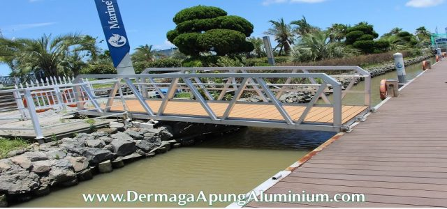 Jual Dermaga Apung Aluminium Murah