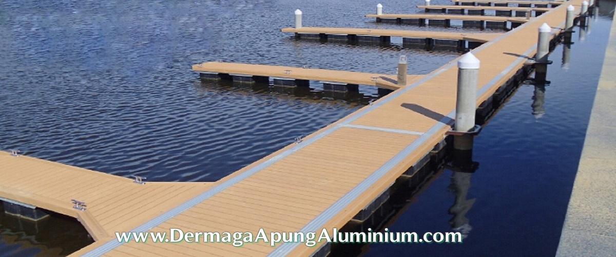 Project Dermaga Apung Aluminium